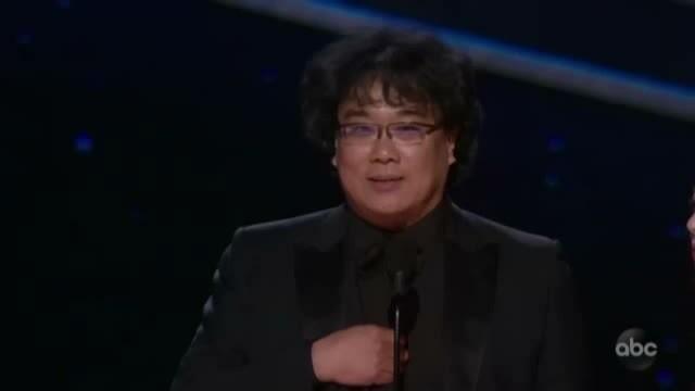 Bong Joon-ho thắng giải đạo diễn