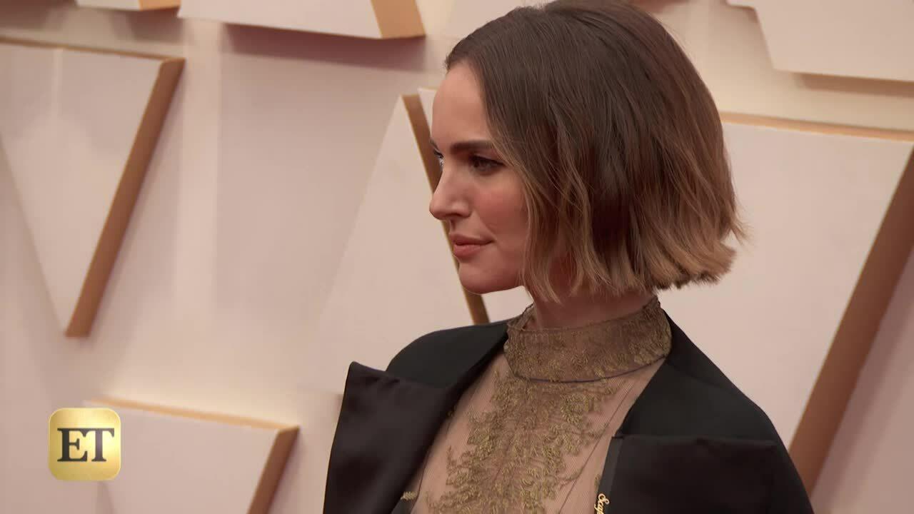 Natalie Portman trên thảm đỏ Oscar 2020