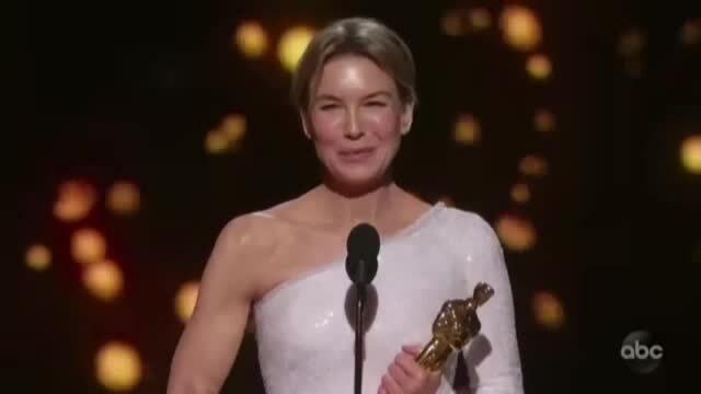 Renée Zellweger thắng Oscar nữ chính