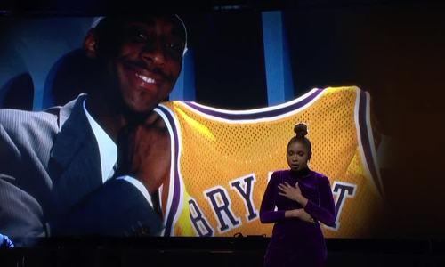 Jennifer Hudson hát tưởng nhớ Kobe Bryant