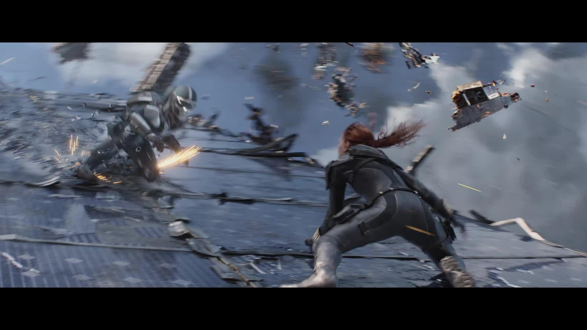 Trailer nhiều cảnh hành động của 'Black Widow'