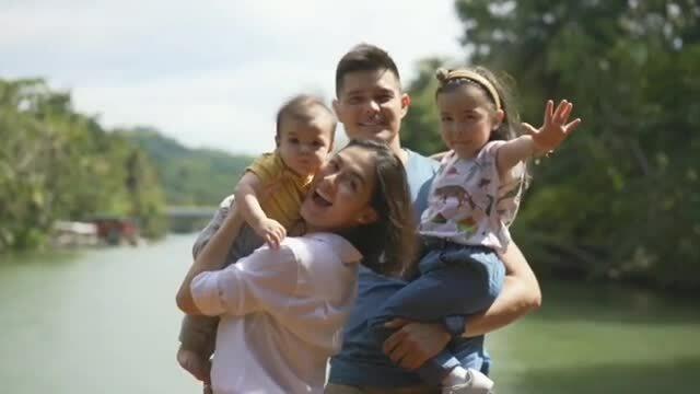 Marian Rivera bên gia đình