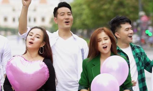 "MV ""Bao la những trái tim hồng"""