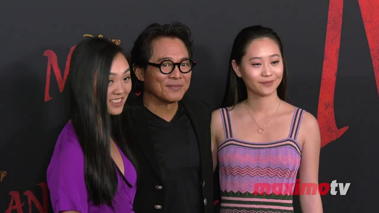 Lý Liên Kiệt và hai con gái