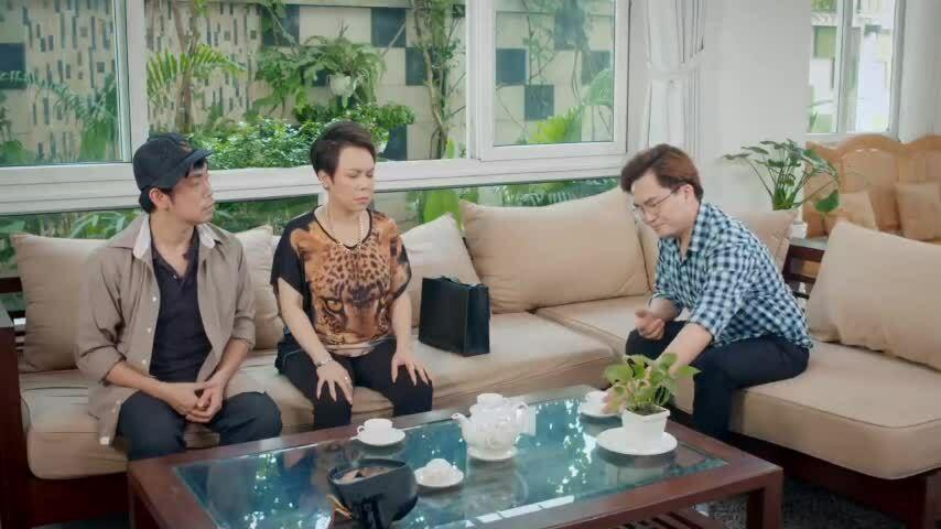 Cảnh chia gia tài trong phim 'Cân mẹ'