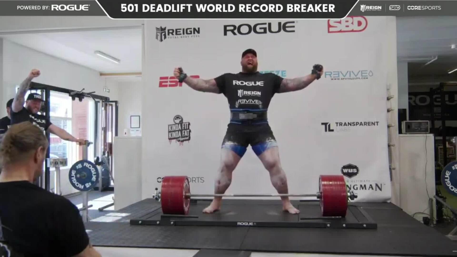 Hafthor Bjornsson Deadlift