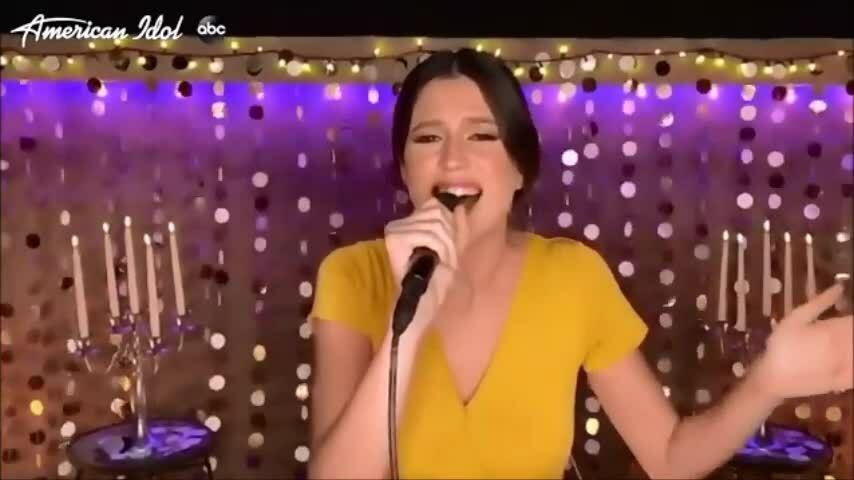 Julia Gargano tại American Idol 2020