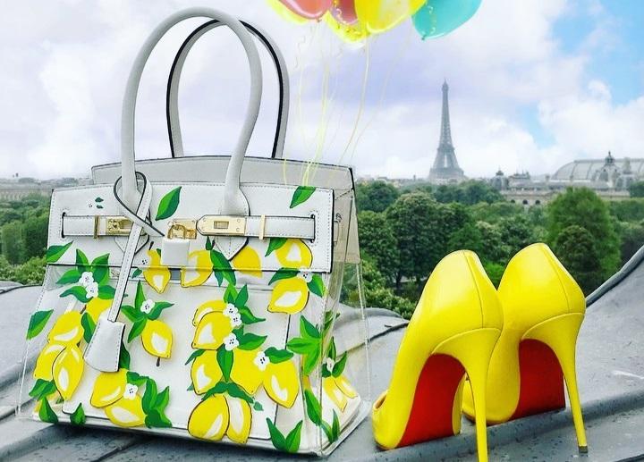 Tủ giày, túi đồng điệucủa fashionista giấu mặt