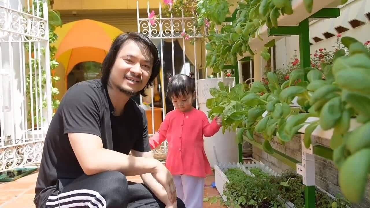 Vườn rau ở penthouse của đạo diễn Hoàng Nhật Nam
