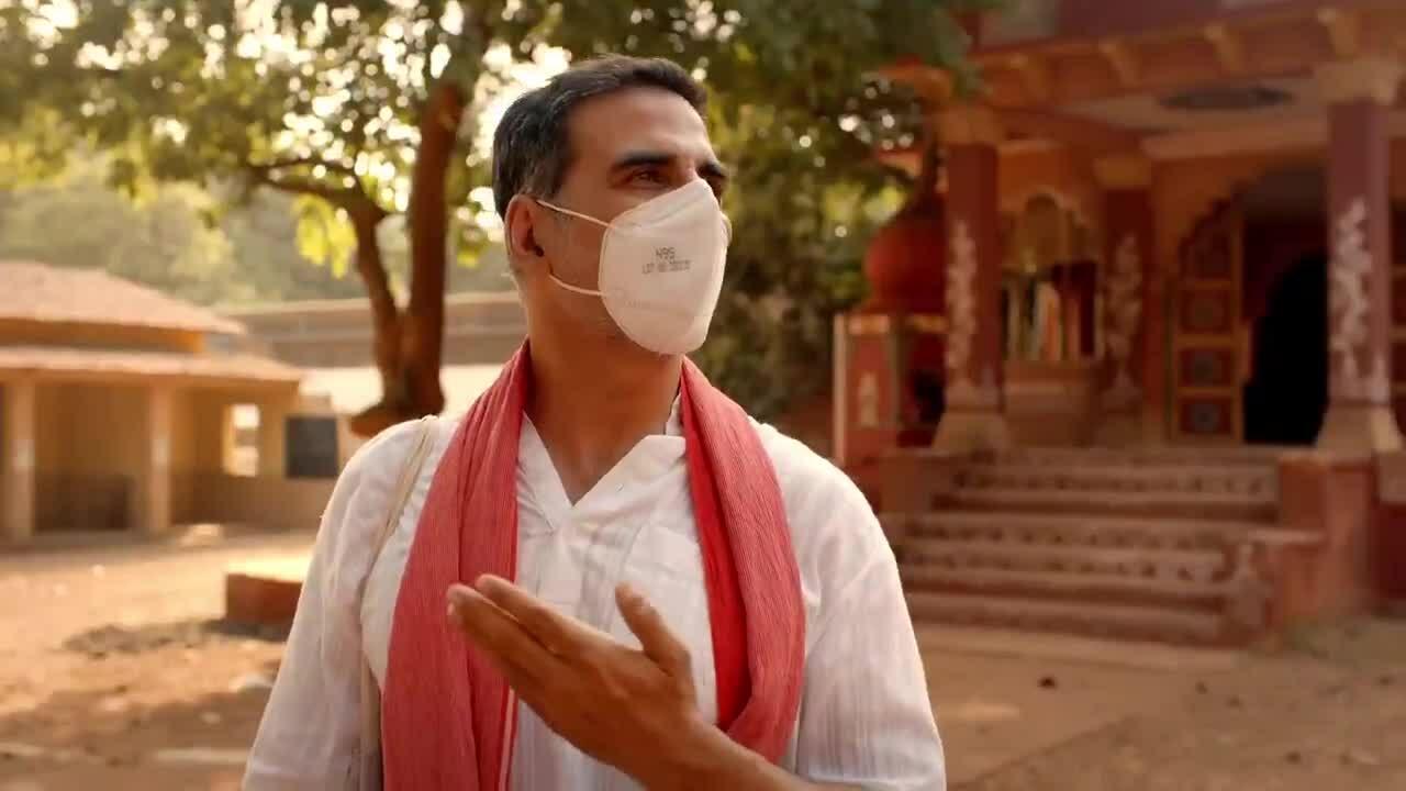 Phim Ấn Độ kêu gọi mọi người đeo khẩu trang