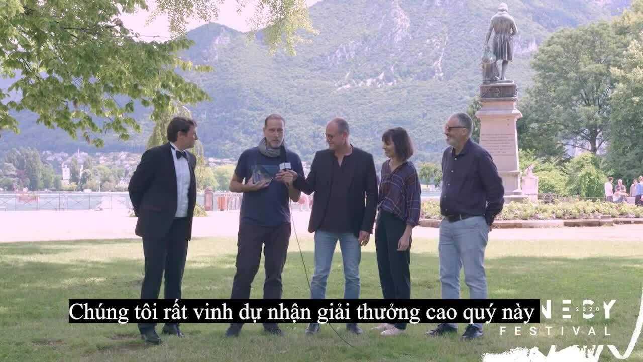Họat h̀ình Pháp đoạt giải cao nhất tại LHP Annecy