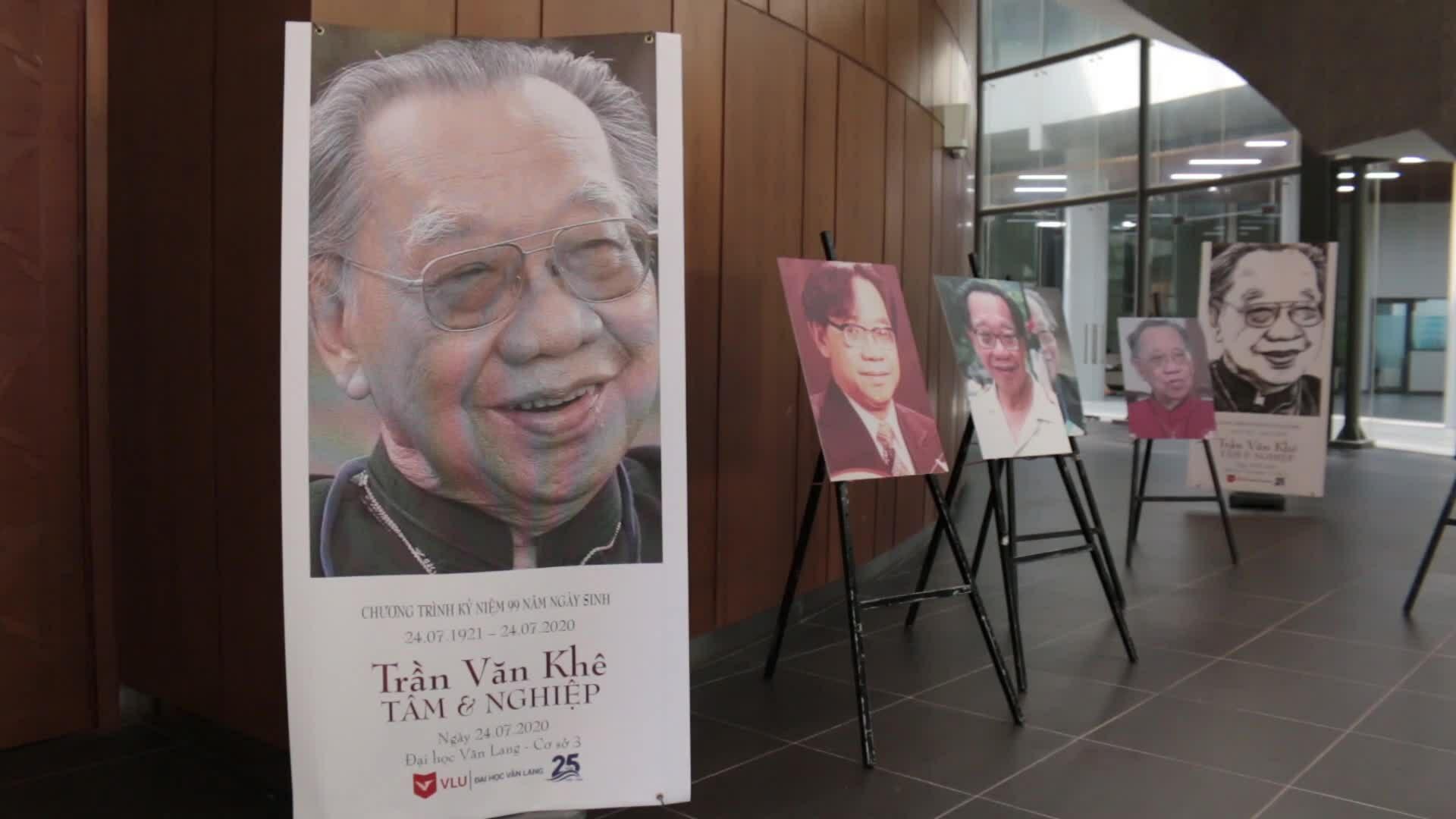 Lễ tưởng nhớ 99 năm ngày sinh của GS Trần Văn Khê