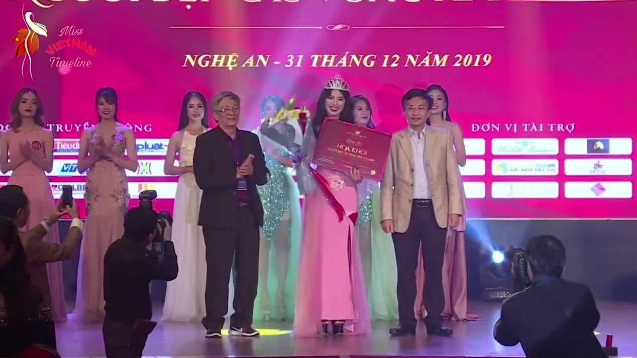 Đặng Phương Nhung đăng quang Hoa khôi Kinh đô Việt Nam 2019