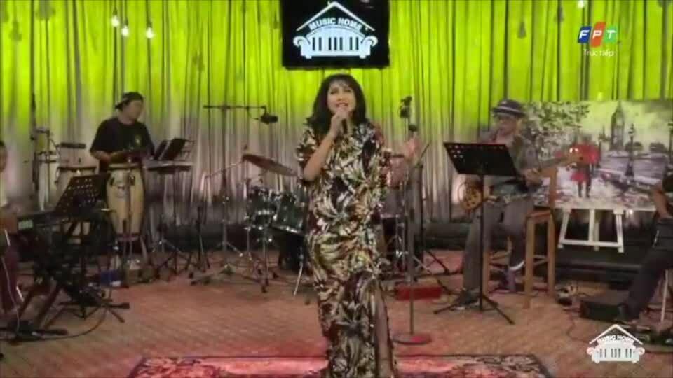 Thanh Lam tung tẩy trên nền nhạc Jazz