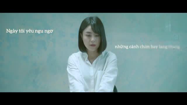 """Thái Trinh hát """"Với anh"""""""