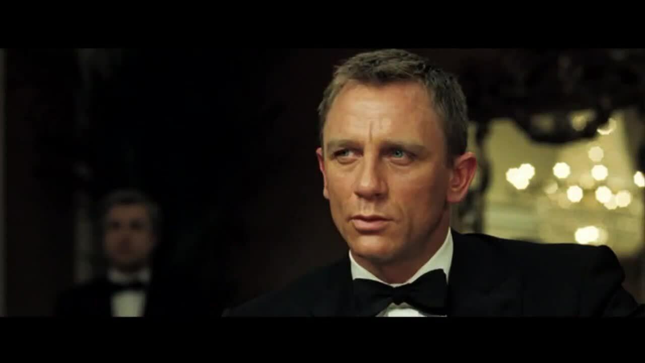 Cảnh chơi poker trong 'Casino Royale'