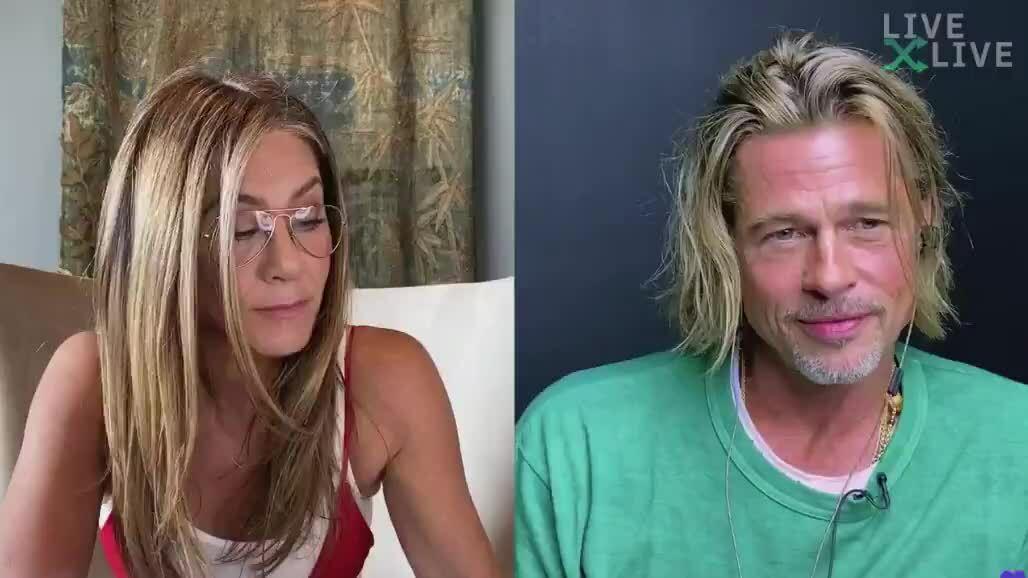 Brad Pitt đọc thoại cùng Jennifer Aniston