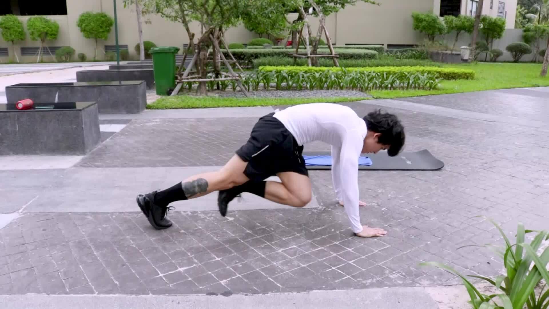 """Quốc Thiên: """"Tôi tự tin hơn nhờ tập gym'"""