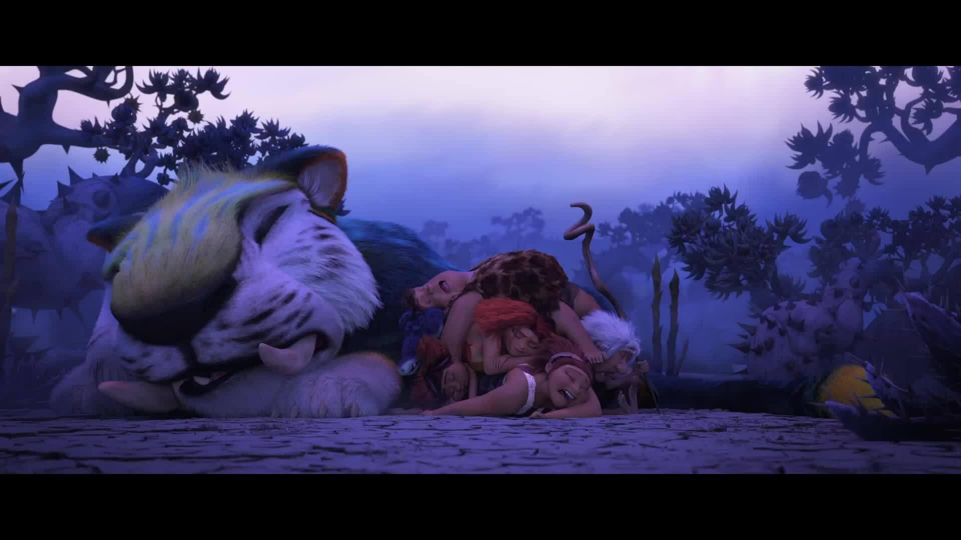 Người tinh khôn xuất hiện trong trailer 'The Croods: A New Age'