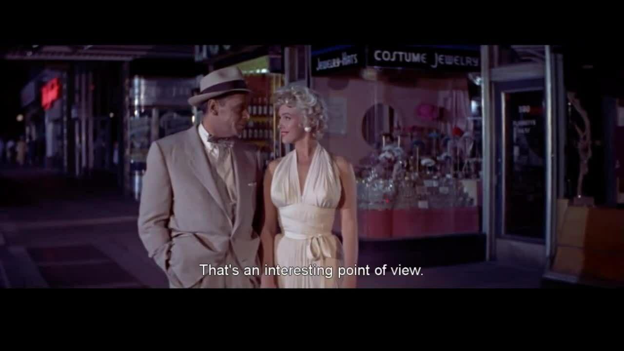 Cảnh tốc của Marilyn Monroe trong 'The seven year itch'
