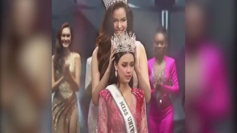Người đẹp lai đăng quang Hoa hậu Hoàn vũ Thái Lan