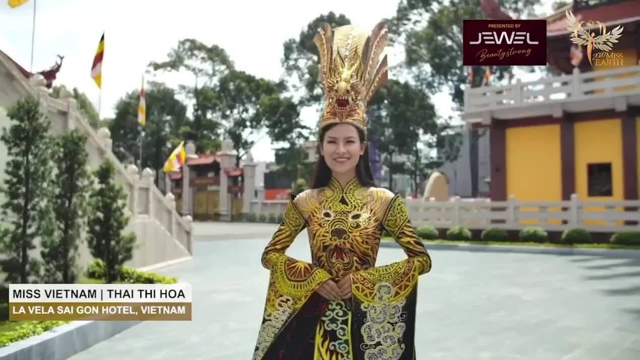 Thái Thị Hoa thắng giải Trang phục dân tộc