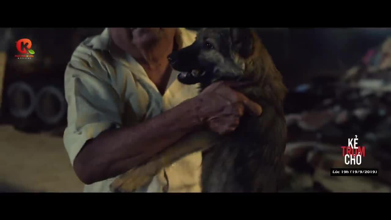 Ông già mù và con chó
