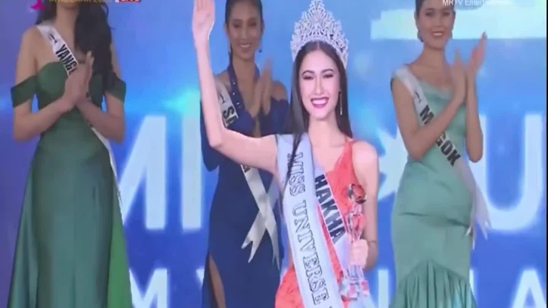 Thuzar Wint Lwin đăng quang Hoa hậu Hoàn vũ Myanmar
