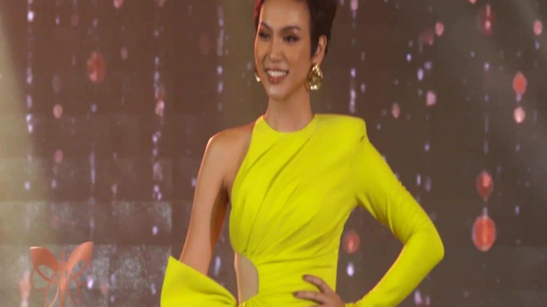 Cadie Huỳnh Anh diễn trang phục dạ hội