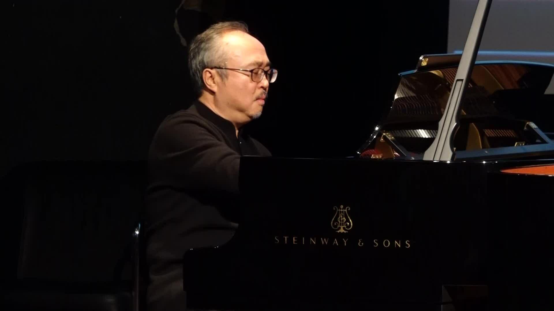 Đặng Thái Sơn biểu diễn piano