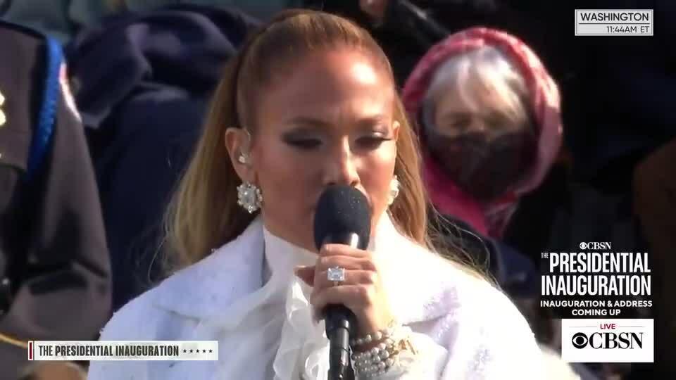 Jennifer Lopez - This land is my land