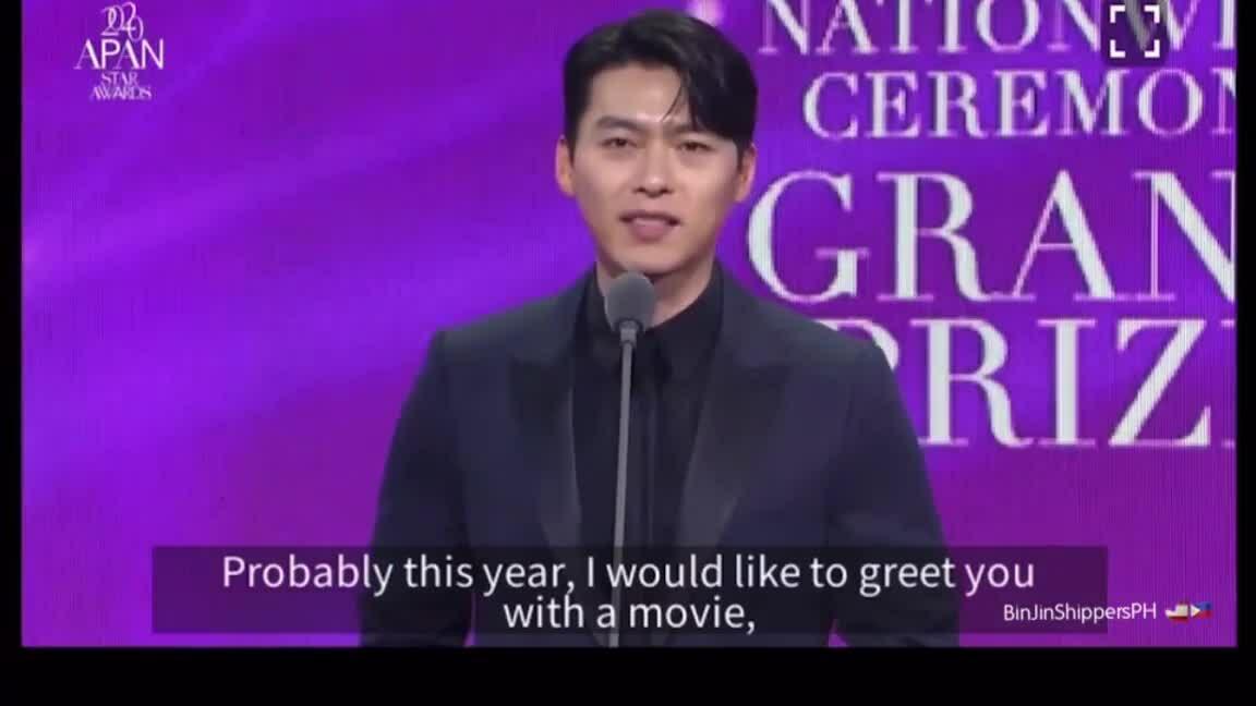 Hyun Bin nhận giải Daesang