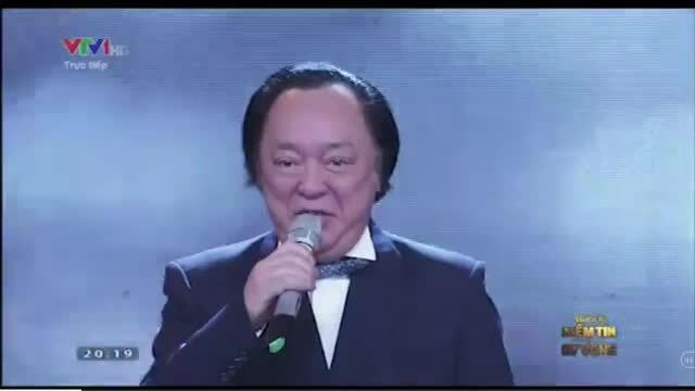 NSND Trung Kiên hát 'Hà Nội, niềm tin và hy vọng'
