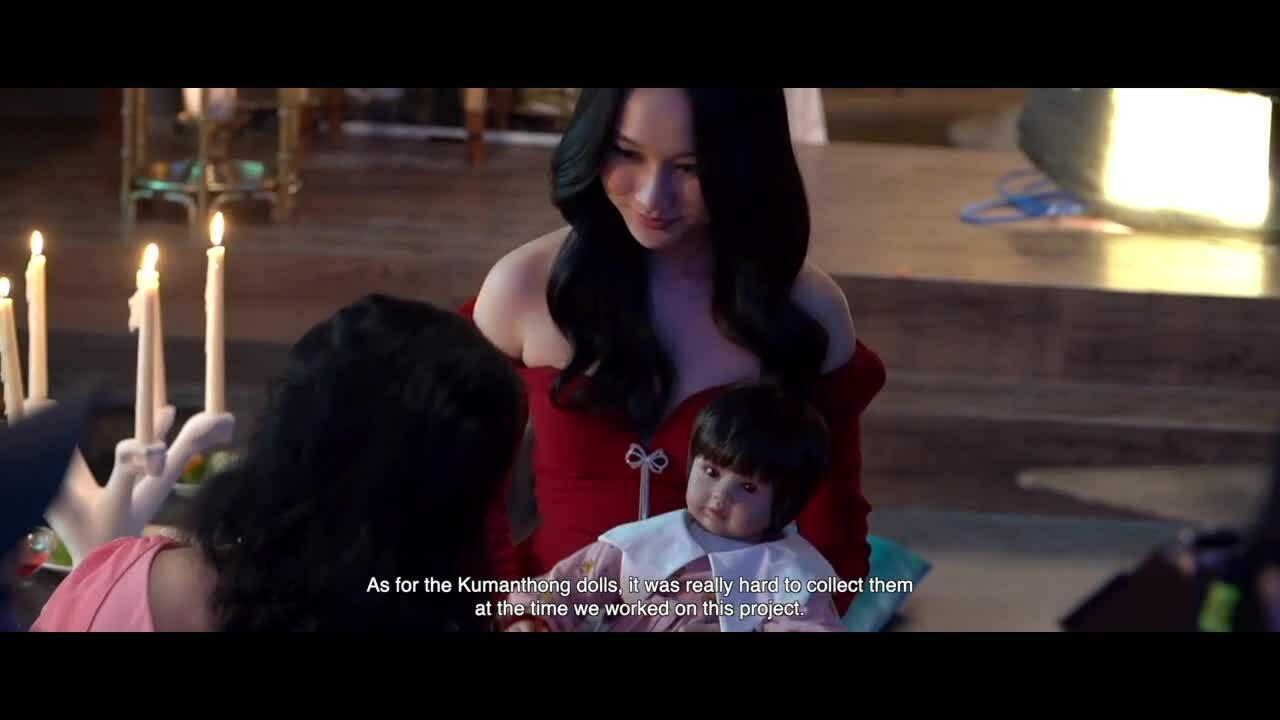 Phim kinh dị của Victor Vũ giới thiệu tạo hình búp bê ma