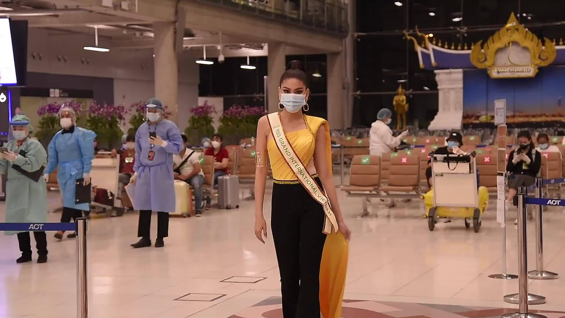 Ngọc Thảo tại Thái Lan MGI