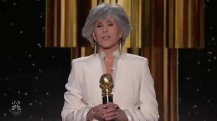 Jane Fonda Receives the Cecil B. DeMille Award