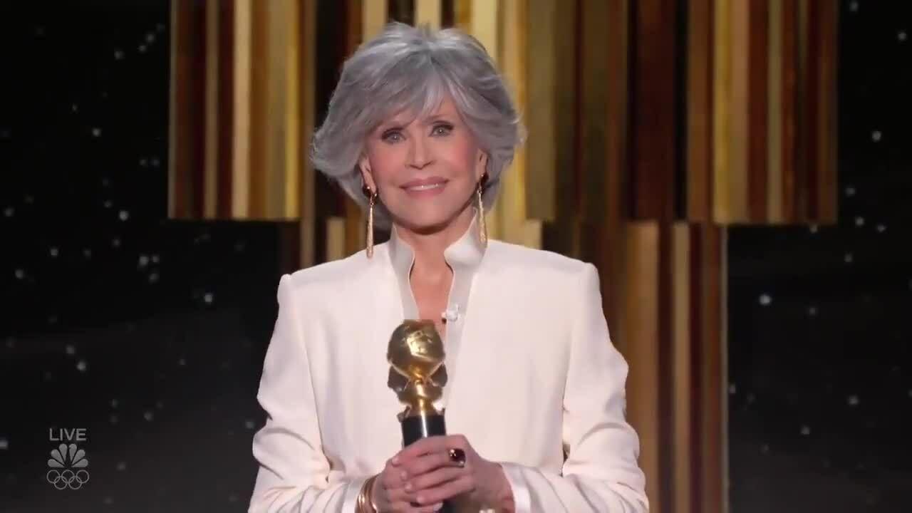 Minh tinh Jane Fonda ca ngợi các phim dự Quả Cầu Vàng