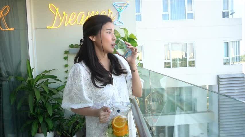 Cao Thái Hà giảm cân nhờ thải độc