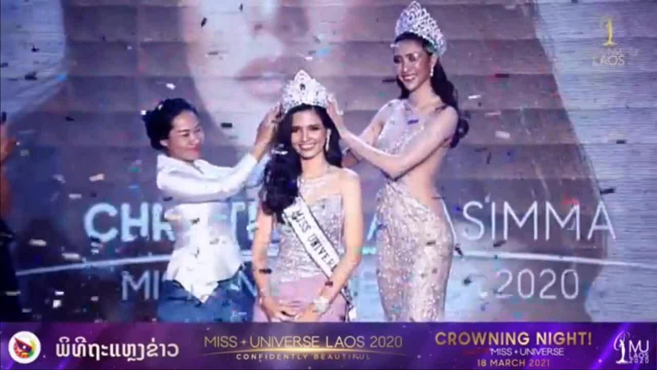 Nhan sắc tân Hoa hậu Hoàn vũ Lào