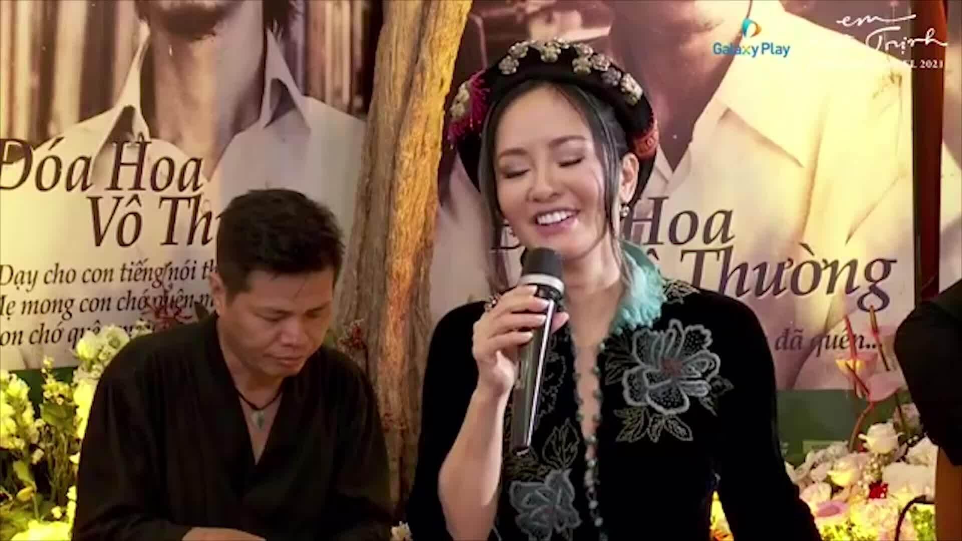 Hồng Nhung hát 'Bống bồng ơi'