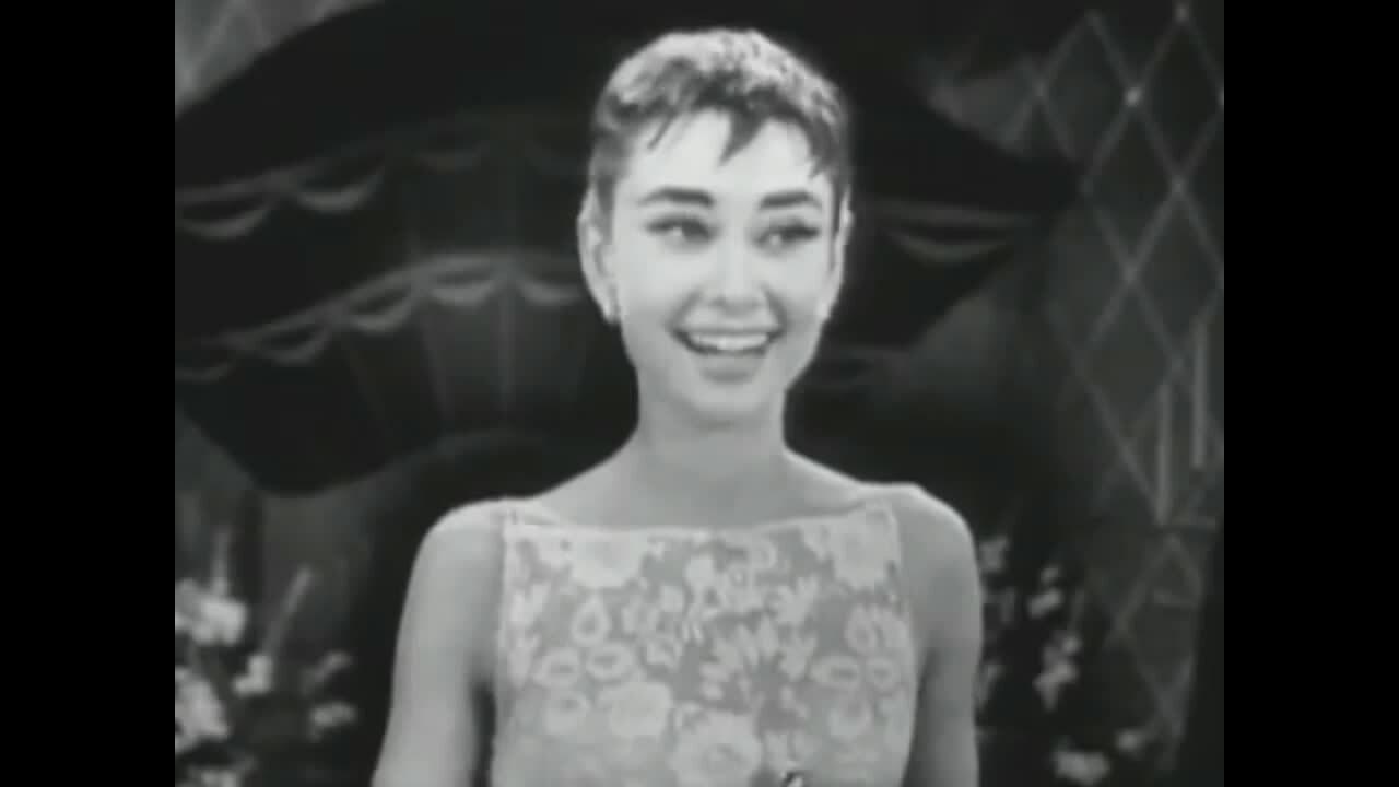 Audrey Hepburn ở Oscar 1954