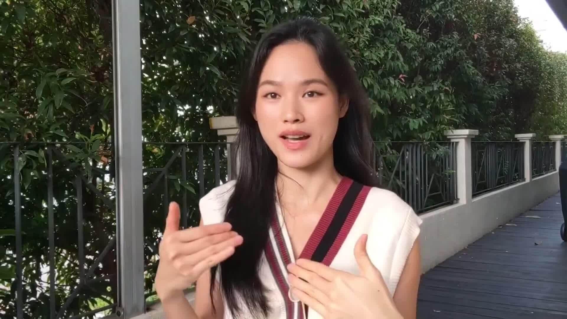 Cuộc sống của Tuyết Lan khi làm mẫu ở Singapore thời dịch