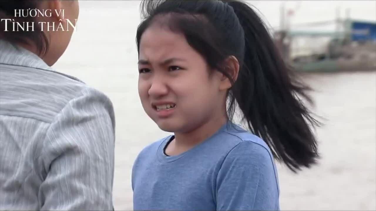 Sao nhí nhập vai trong phim 'Hương vị tình thân'
