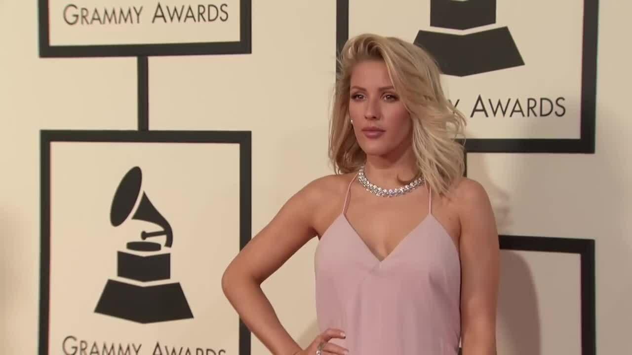 Ellie Goulding ở Grammy 2016