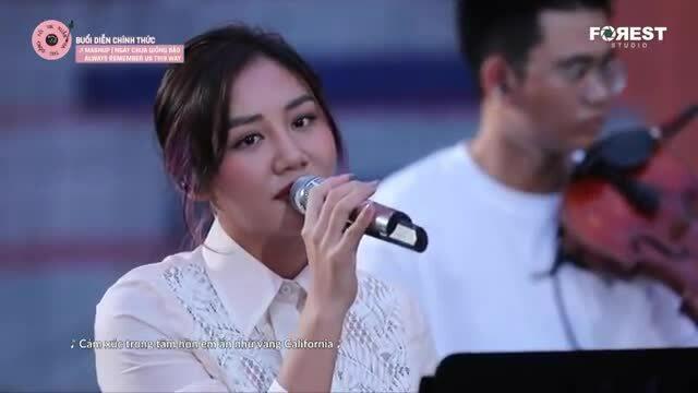 Văn Mai Hương hát Always Remember Us This Way