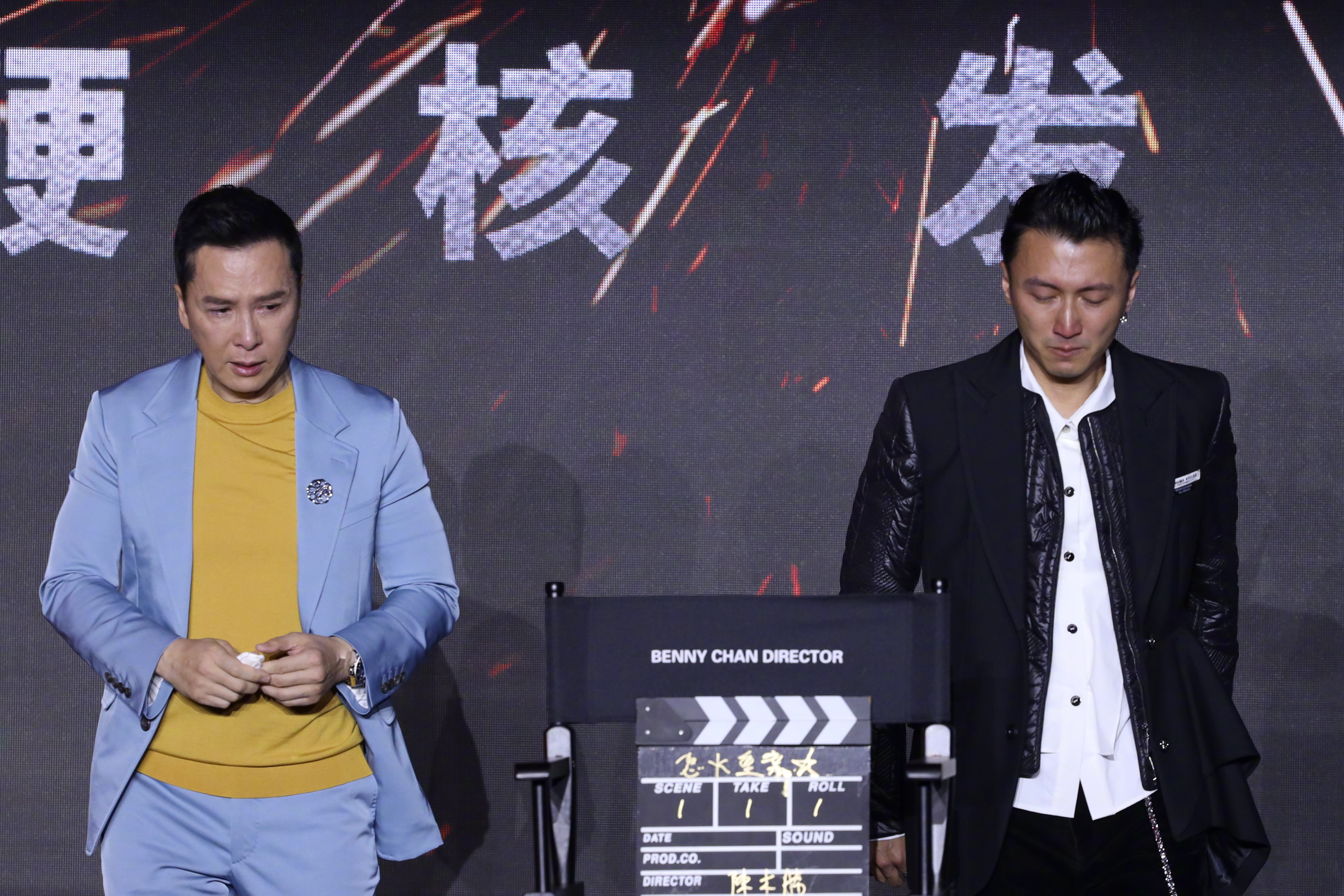 Chân Tử Đan, Tạ Đình Phong khóc trên sân khấu
