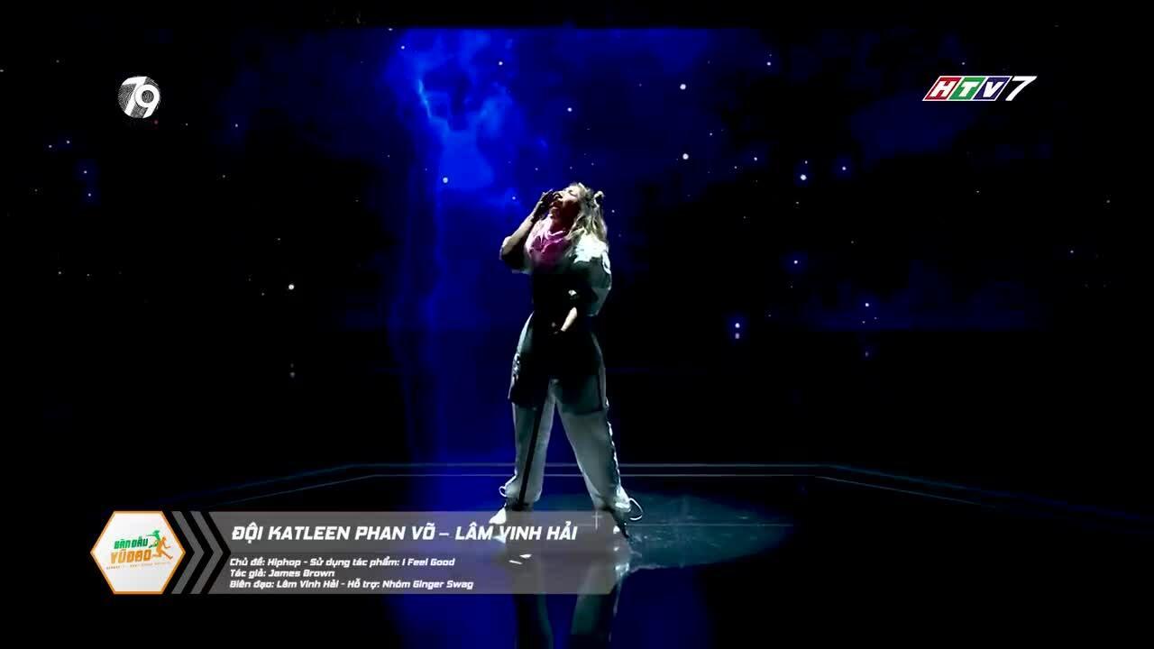 Katleen Phan Võ được khen khi thi nhảy
