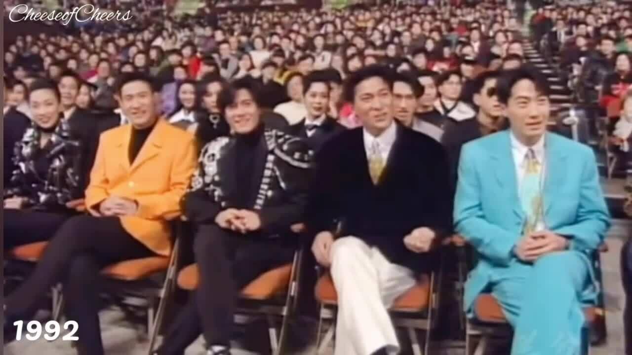 Những lần Tứ đại Thiên vương chung sân khấu
