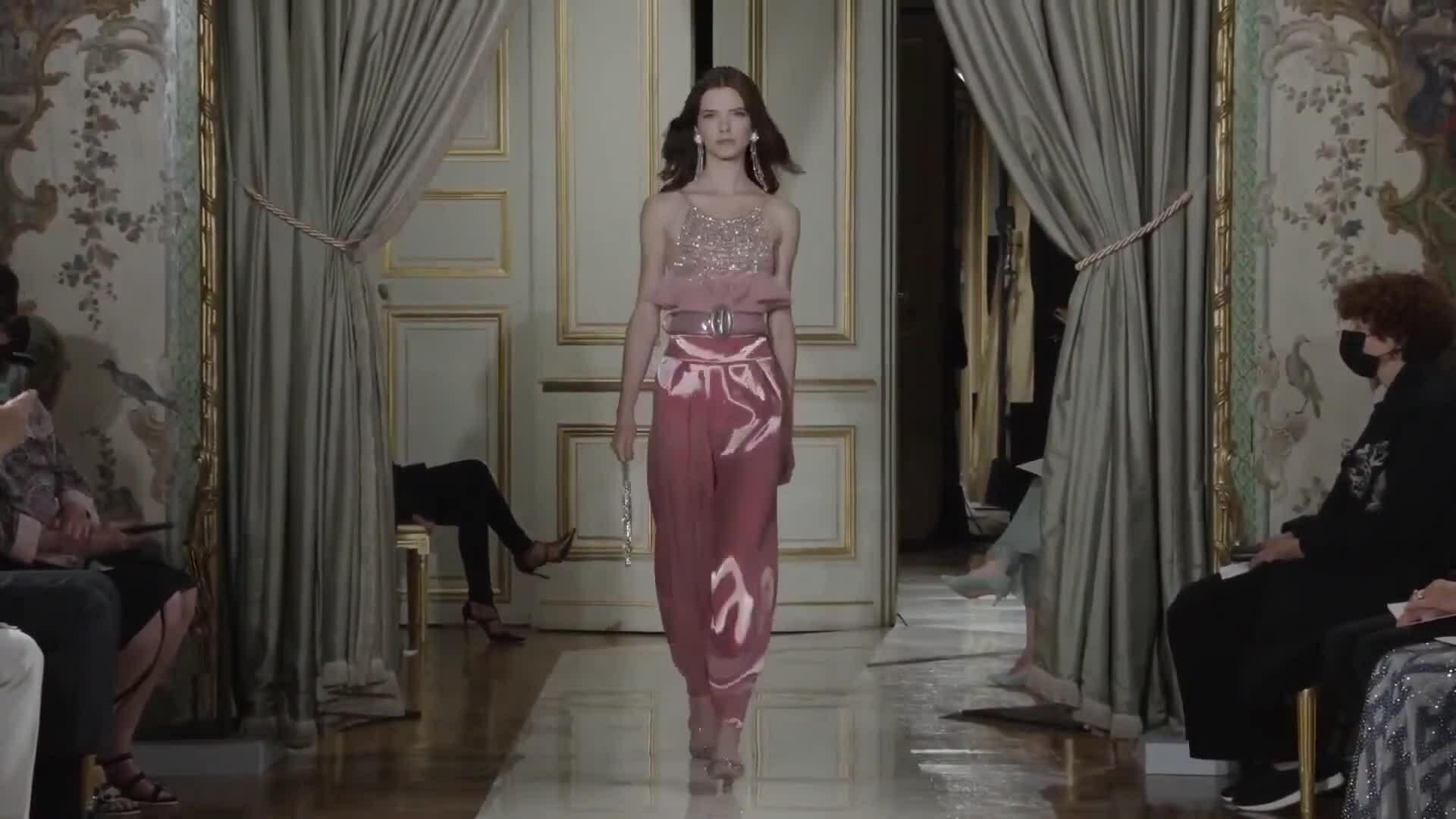 Giorgio Armani Haute Couture Thu Đông 2021
