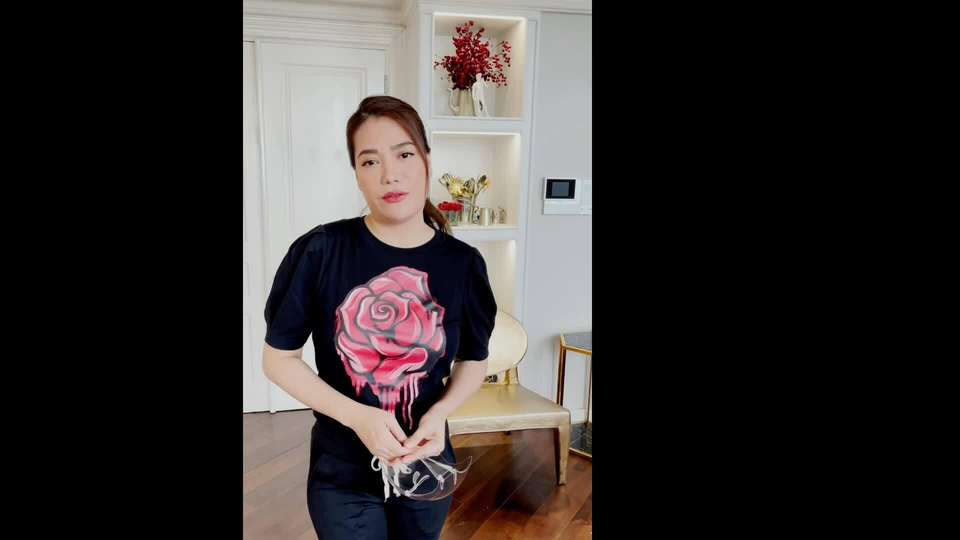 Trương Ngọc Ánh nấu 300 suất ăn cho tuyến đầu chống dịch